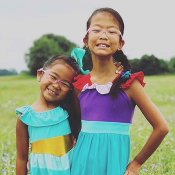 Ayla And Amelia Photo