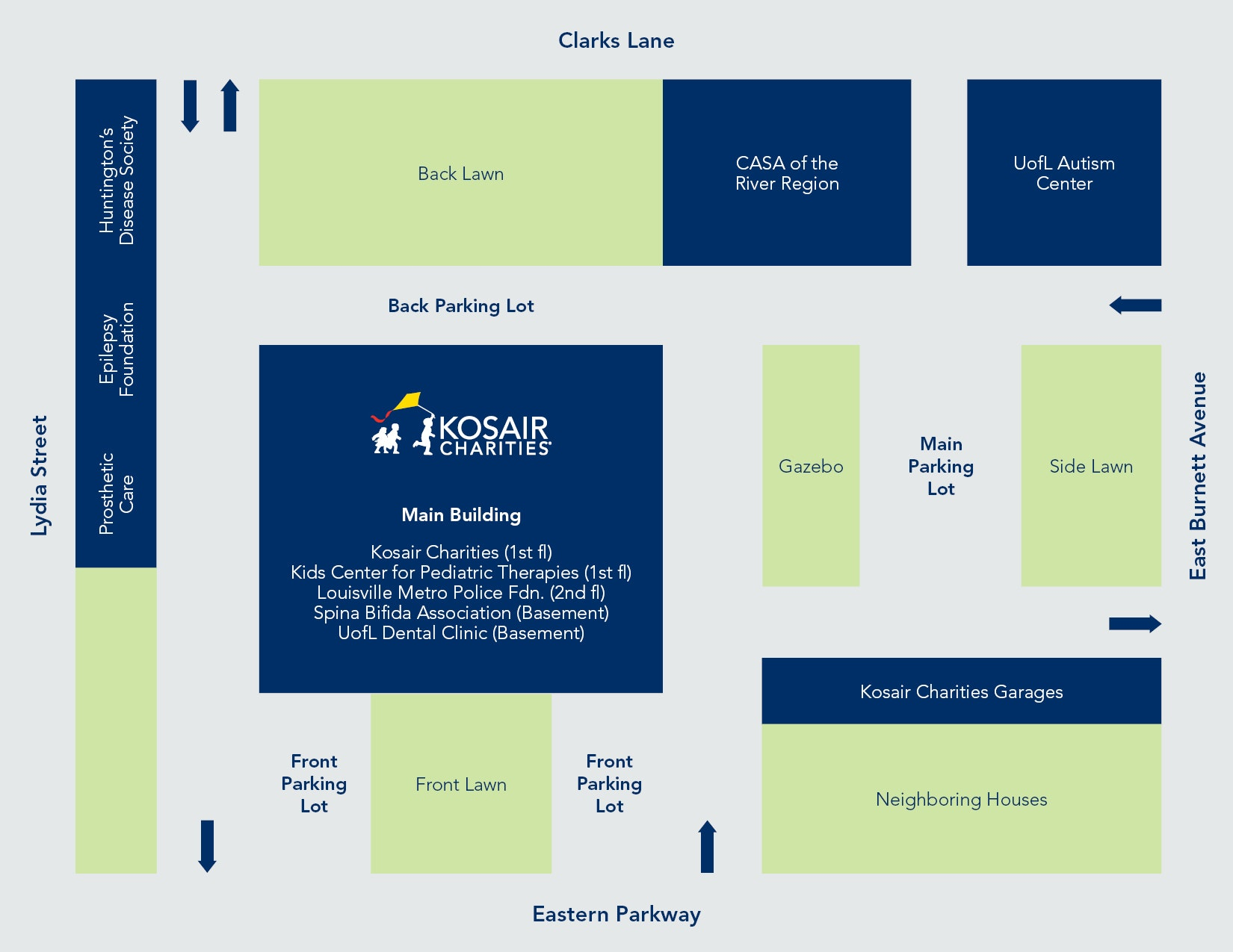 Basic Campus Map